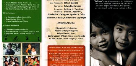 Kalipay Brochure