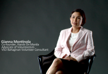 VSO-Bahaginan: Gianna Montinola for Volunteerism