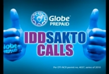 Globe IDD Sakto Calls